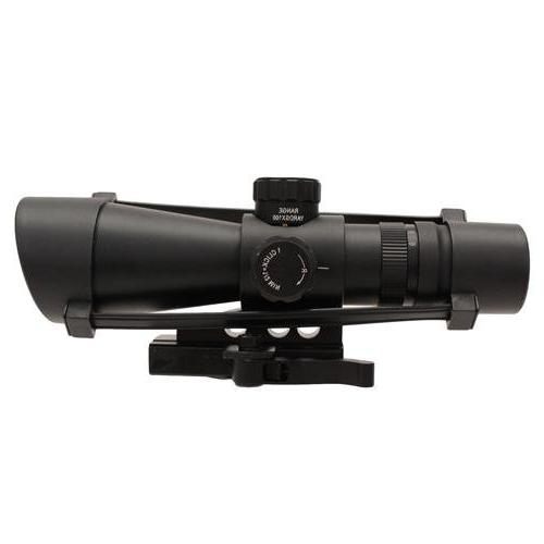 NcSTAR 3-9X 42mm Mark III Tactical Series Rifle Scope, Black