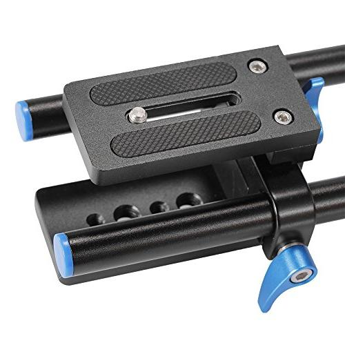 Neewer Alloy DSLR Baseplate with Quick Rig