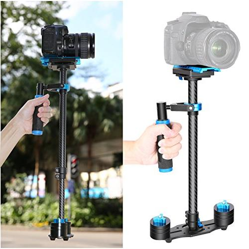 """Neewer 24""""/60cm Handheld Release Plate 1/4"""" 3/8"""" and Cameras up to 6.6lbs/3kg"""