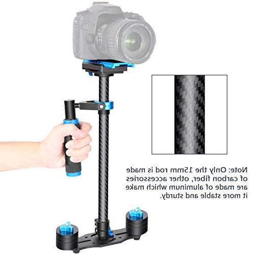 """Neewer Carbon Fiber Handheld with Quick Release 3/8"""" Screw for DSLR and Video"""