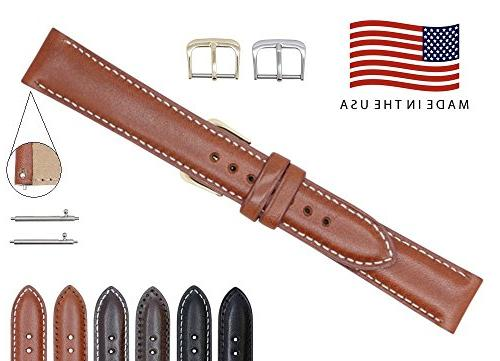 Quick Release American Saddle Genuine Leather Watch Strap Ba
