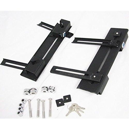 Universal detachable brackets Holes