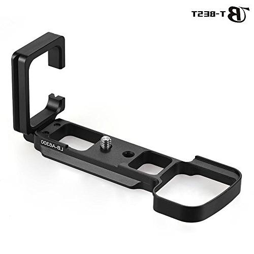Vertical Quick Release L Plate L-shaped Bracket for Sony A63