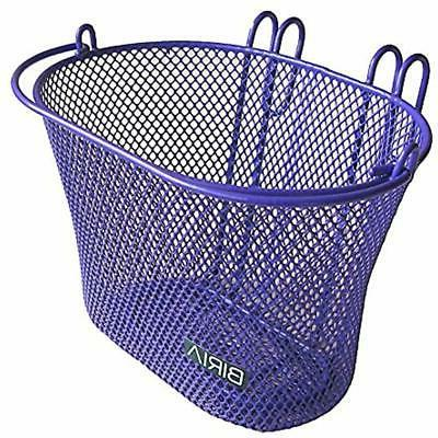 Biria Basket with hooks PURPLE, Front, Removable, Children w