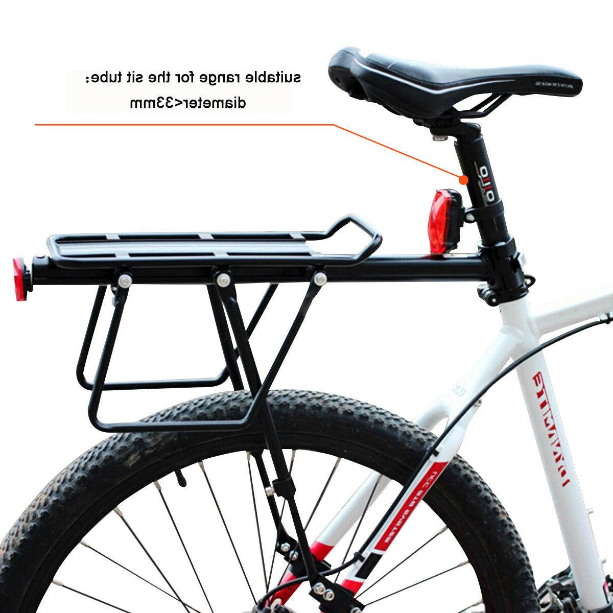 Bicycle Bike Cargo Rear Back Shelf Quick Release Prote