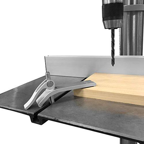 Cam Release Hold Down Clamp for Jigs, Fixtures & Shop Fences. Ideal Router and Press Table Shop Sleds & Fixtures