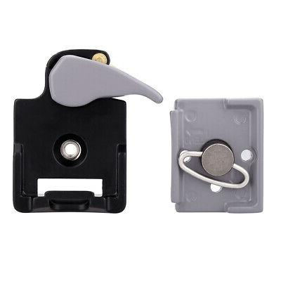 Camera 323 Release Clamp Adapter Plate Manfrotto 200PL-14