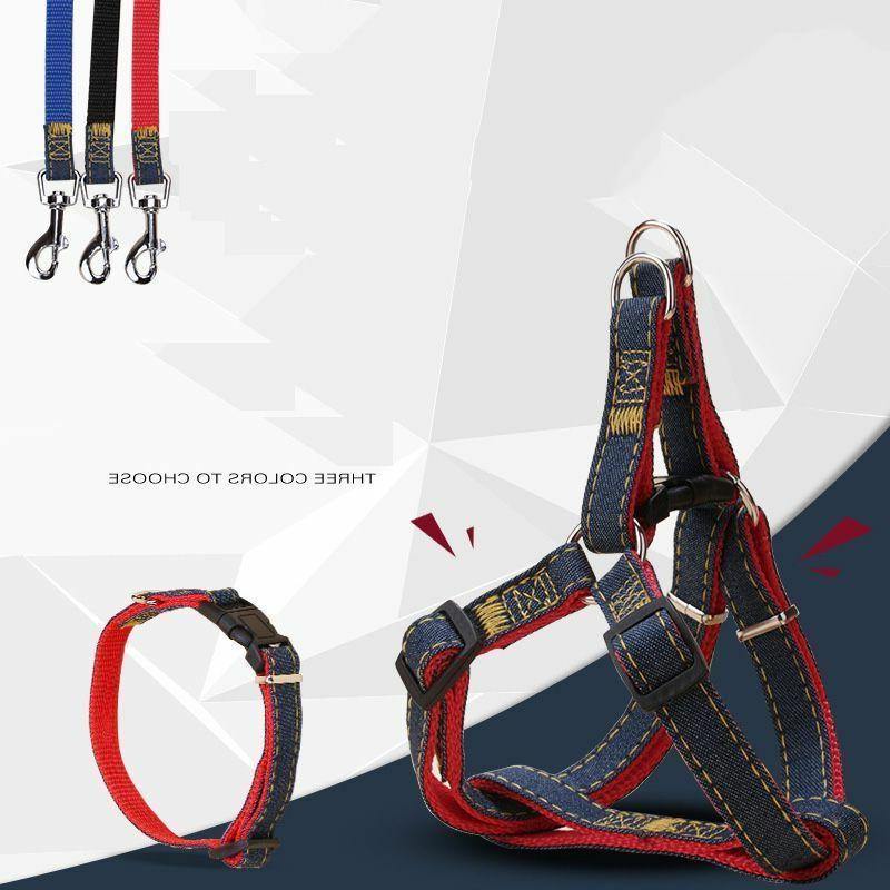 Dog Collars Leash Traction Rope Nylon Solid Color Quick Rele