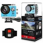 AKASO EK7000 IN BLUE 4K WIFI 12MP SPORTS ACTION CAMERA ULTRA