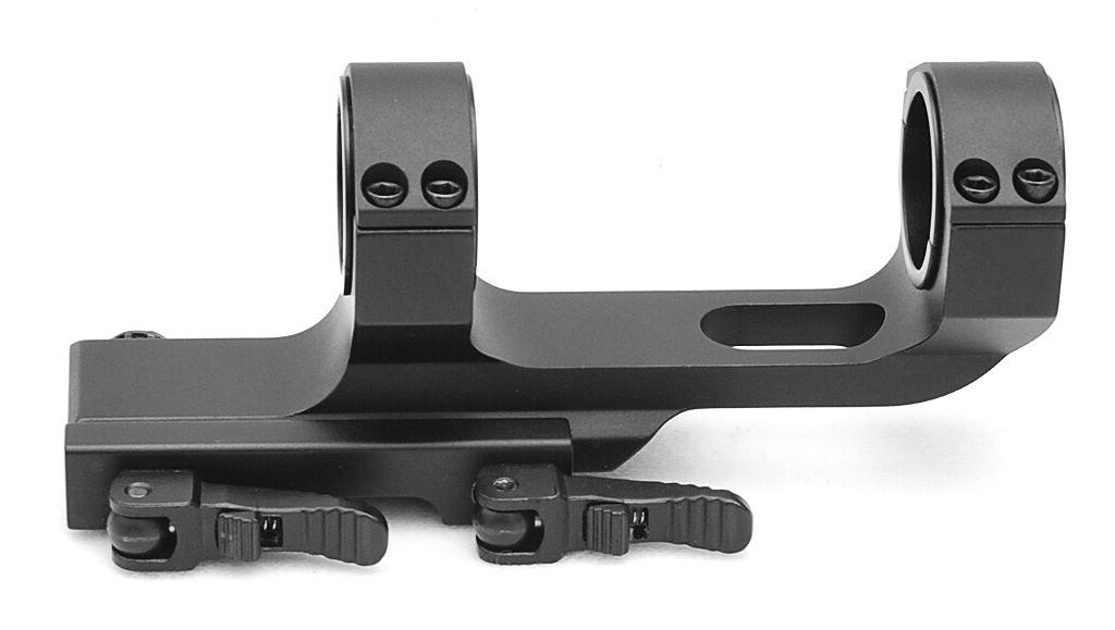 Flat Top Offset One Piece QD Scope Mount with Quick Release