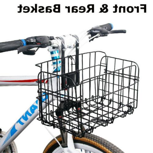 Foldable Bicycle Quick Front for Basket L3R0U
