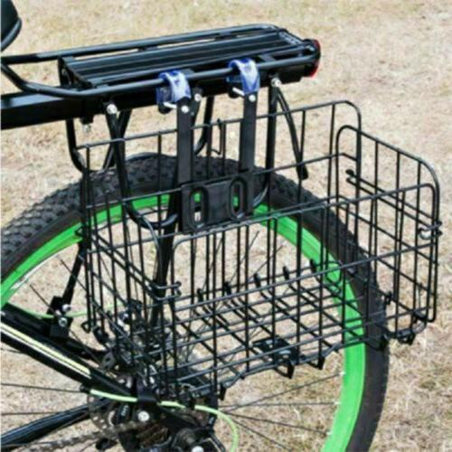 Foldable Bicycle Quick Front Rear for Storage Basket L3R0U