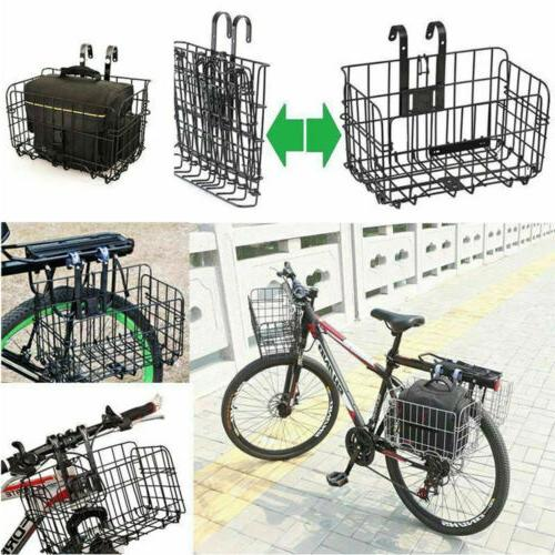 foldable bicycle quick release front rear bike