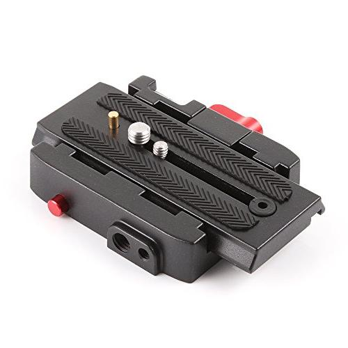 fotga p200 quick release clamp plate manfrotto 501 500ah 701