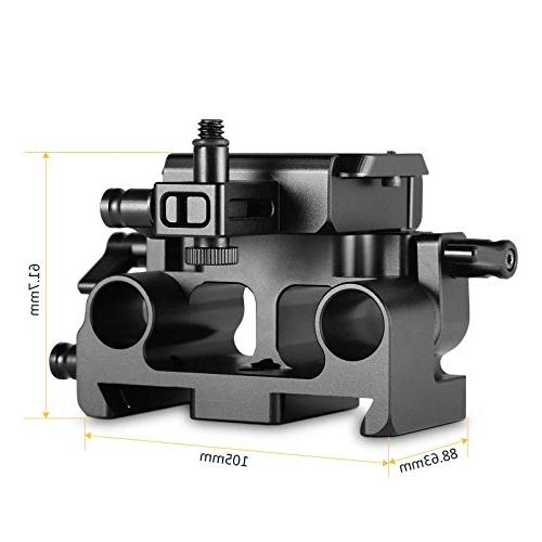 SmallRig Quick Baseplate Lumix, 15mm Rod System Support