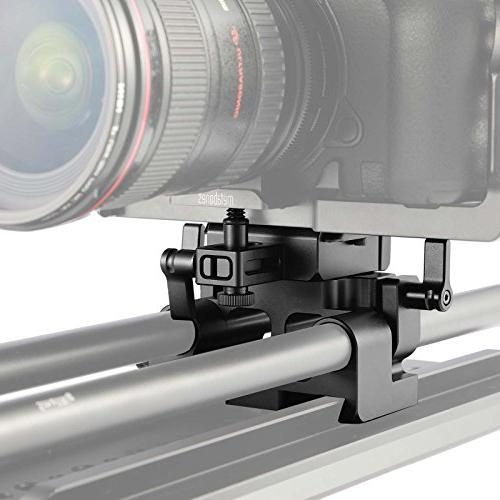 SmallRig GH5/GH5S Baseplate Kit for Lumix, 15mm System with Lens Support