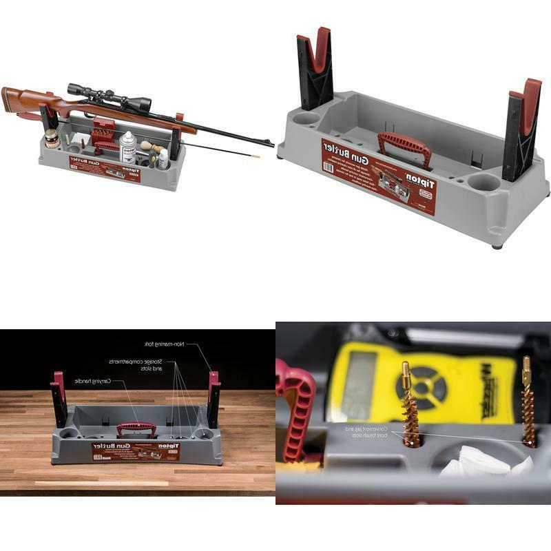 gun vise and cleaning stand rifle holder