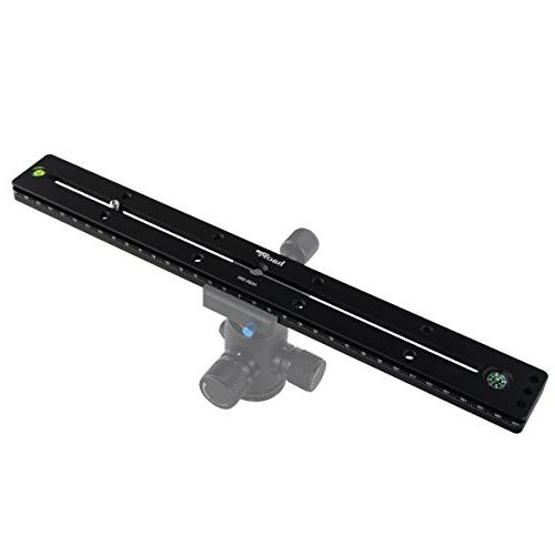 Haoge HQR-350 Dual Dovetail Release Extender Plate for Ballhead fit Arca