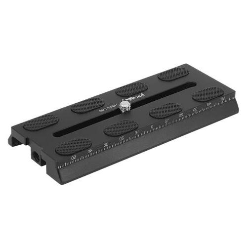 Haoge 120mm Camera Mounting Quick Release Plate for DJI Roni