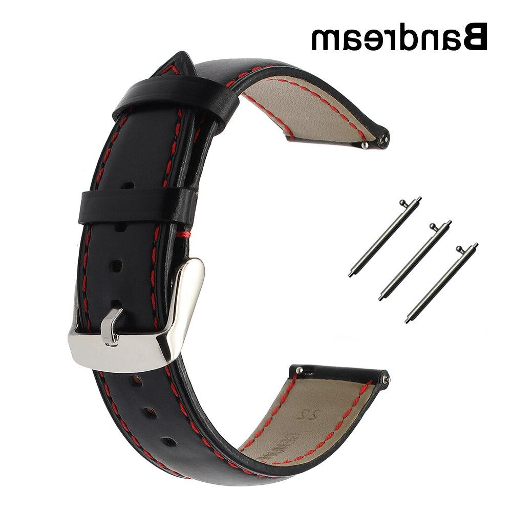 italy genuine calf leather watchband for garmin
