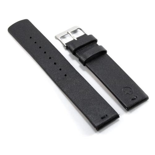 Kepler 22B Black with Quick Release Clasp, Leather Bracelet