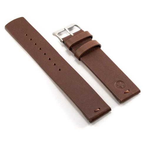 Kepler 22B with Quick Release Clasp Bracelets, Leather Dark