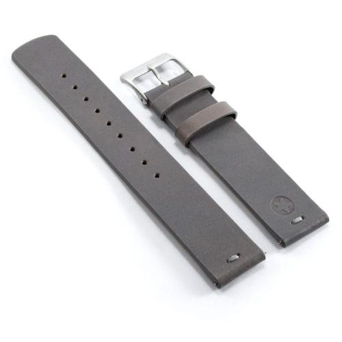 Kepler 22B with Quick Release Clasp Bracelets, Leather Grey