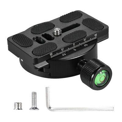 ANDOER TRIPOD MONOPOD QUICK PLATE CLAMP ADAPTER L0Z3