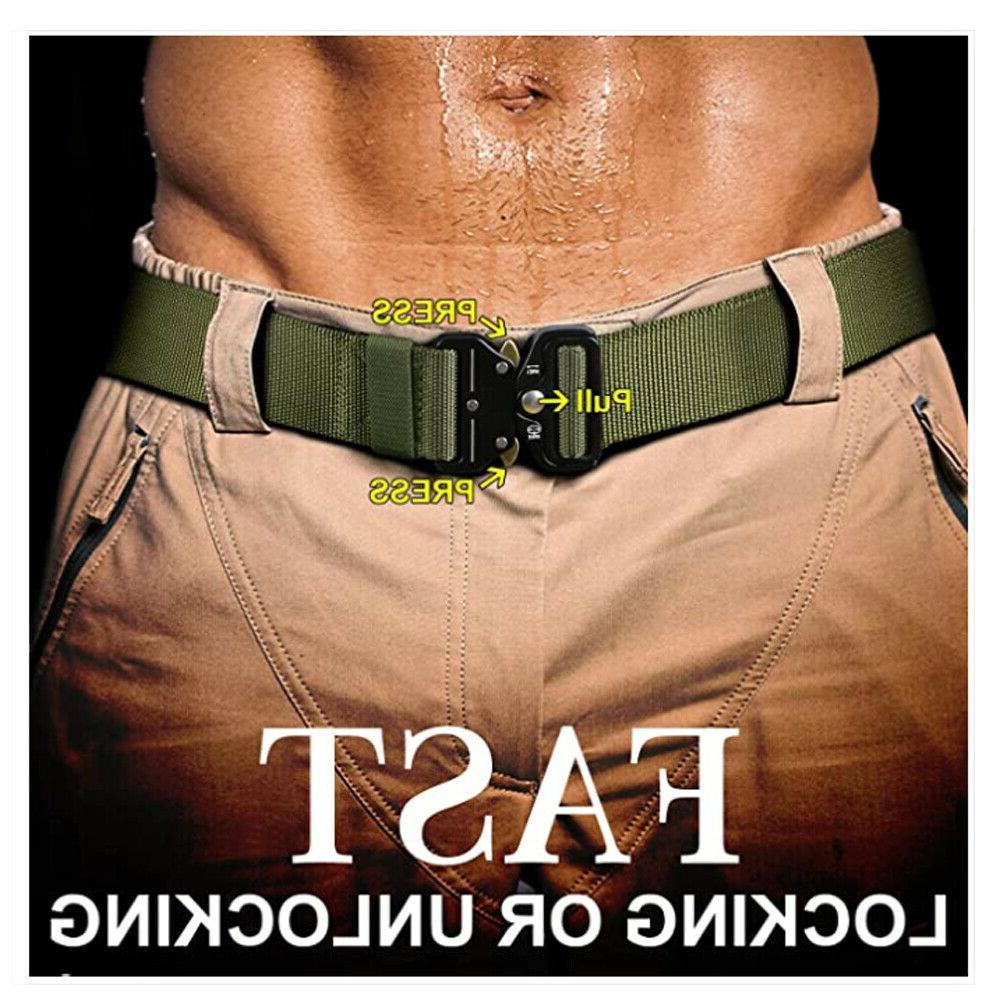 MEN Military Tactical Police Quick Belts