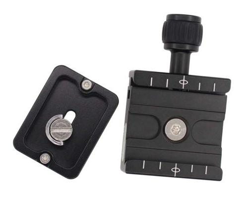 Metal Clamp + Quick Release Manfrotto Arca-Swiss