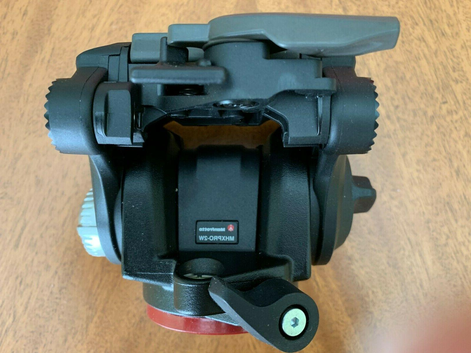 Manfrotto MHXPRO-2W FLUID HEAD Quick Plate