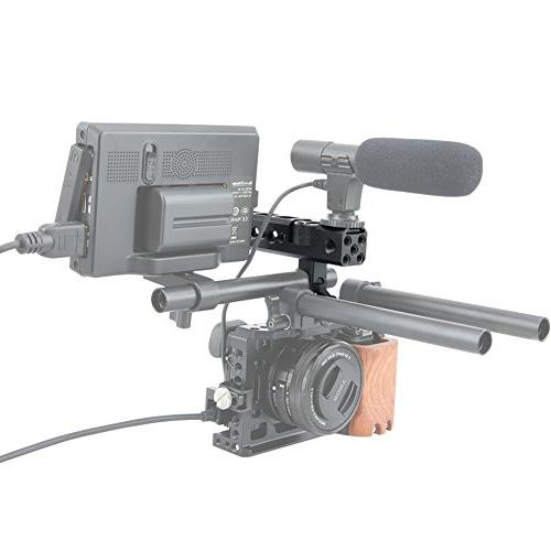 NICEYRIG Top with NATO Rail 15mm Cold Shoe A6000 Camera Camera cage