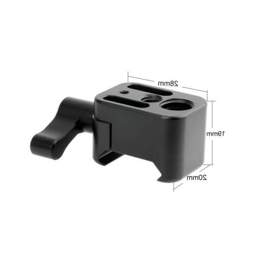 nato clamp quick release for cold shoe