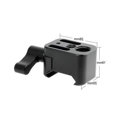 NICEYRIG Clamp Quick Release Mount Holder for Camera Cage Monitor