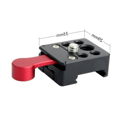 nato clamp quick release mount with 1