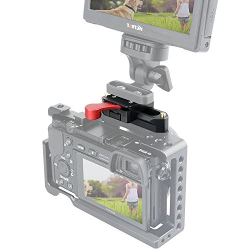 NICEYRIG Nato Clamp with Rail Video Light Microphones