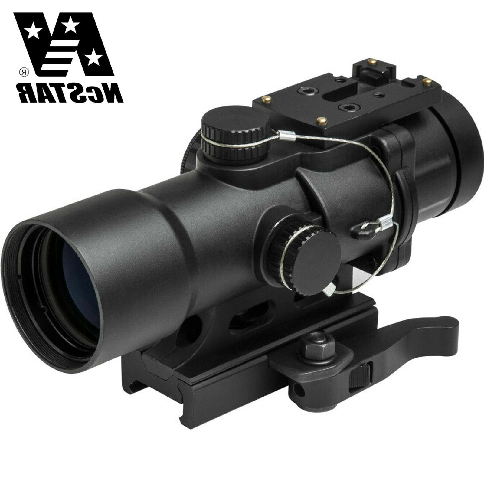 NcSTAR Cpo Scope Series 3.5X32 Compact Pristmatic Optic Gree