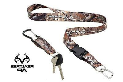 neck lanyard with quick release and carabiner