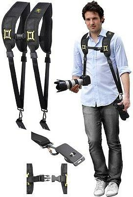 Dual Neck - Shoulder Strap With Quick Release For Canon XF40