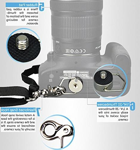JJC NS-J3 Quick Neck Strap for Camera DSLR SLR