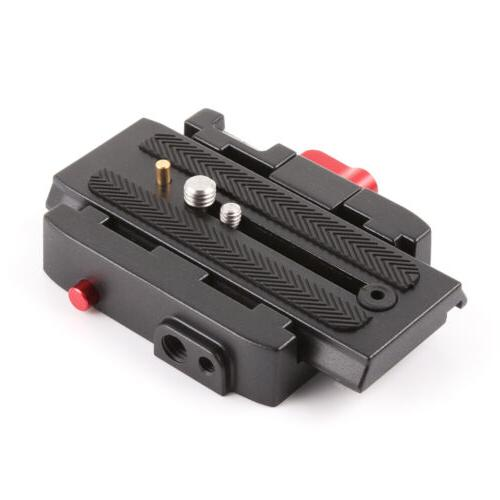 P200 Quick Release Clamp Adapter +QR Plate f Manfrotto 577 5