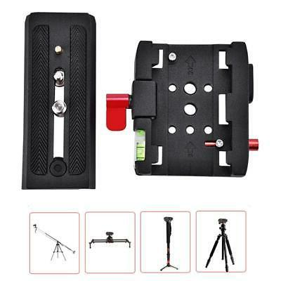P200 Quick Release QR Clamp Base Plate Manfrotto 500 AH 701