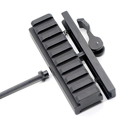 Trirock Riser Adapter with Rail Quick Release detachable