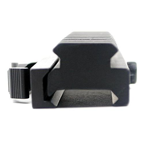 Trirock Riser Mount Adapter with slot Rail Release detachable