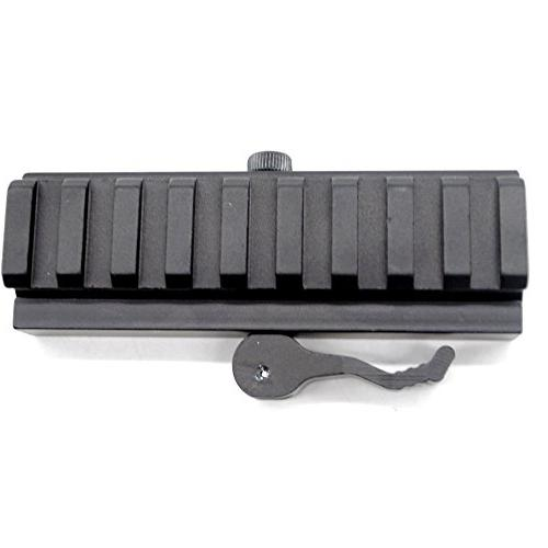 Trirock Picatinny Adapter with slot Rail with Quick detachable