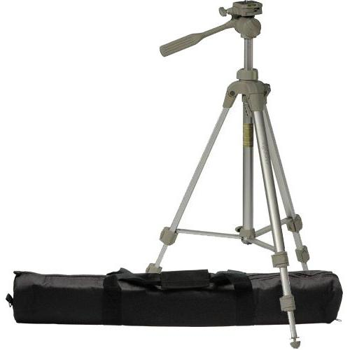 Olympus Nikon Sunpak 59.4-Inch PlatinumPlus 5800D Digital Tripod with 2 Quick Release Plates and Case for Canon Pentax and Sony Digital Cameras