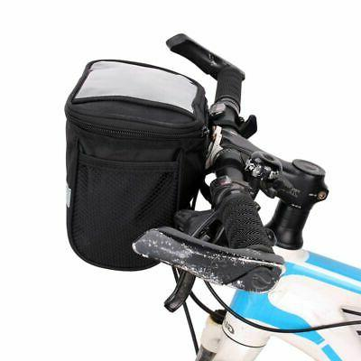 Portable Cycling Handlebar Bar Bags Quick Release Front Bask