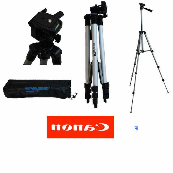 """50"""" PROFESSIONAL TRIPOD WITH QUICK RELEASE FOR CANON EOS M5"""