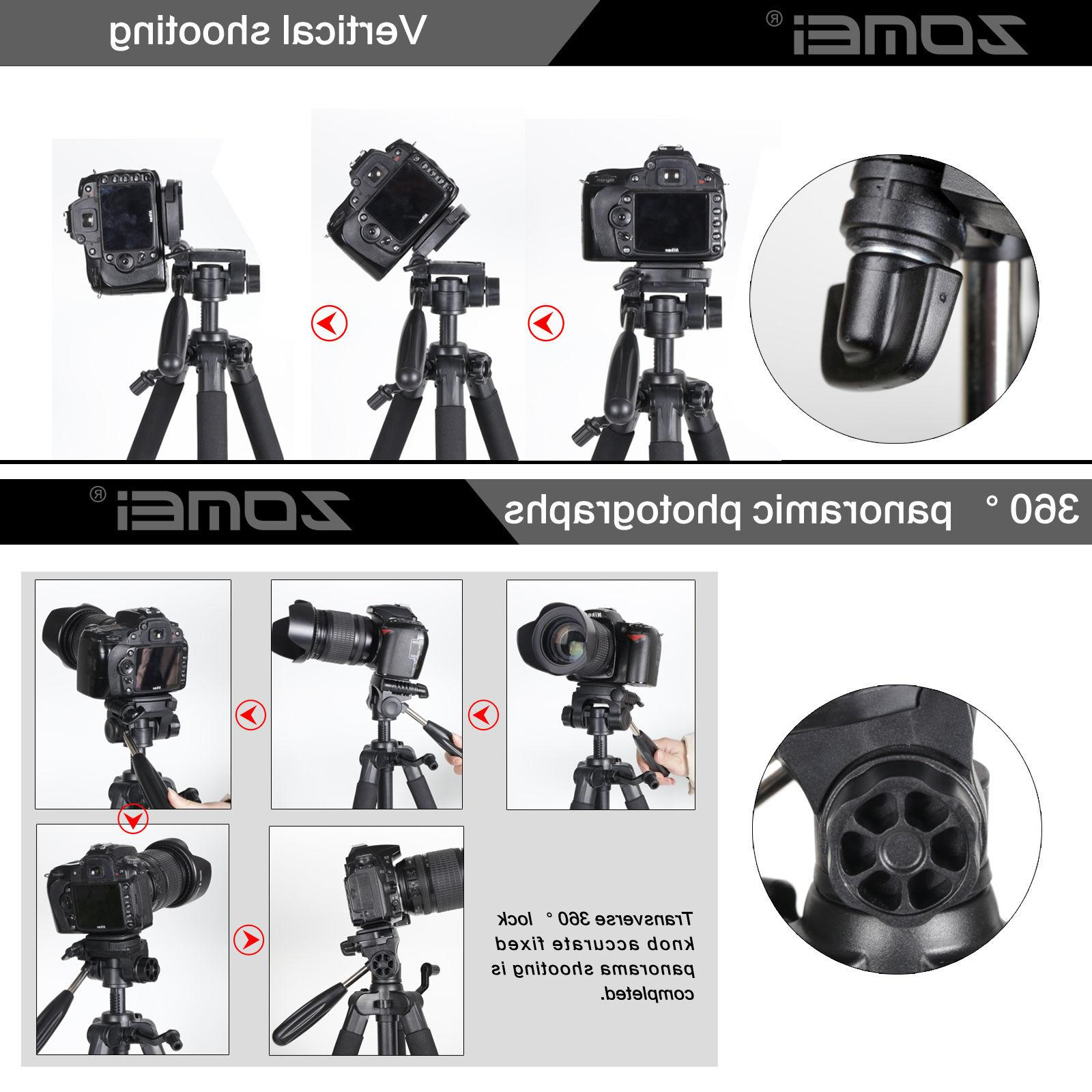 Zomei Duty Aluminium Tripod&Pan for