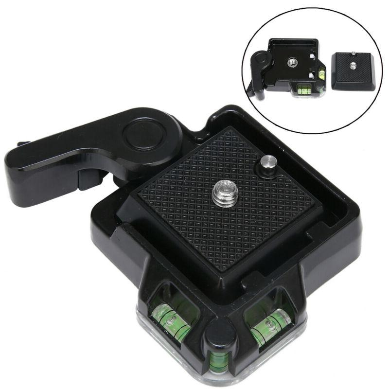 Clamp & Quick Release QR Plate Holder Mount For Tripod Monop